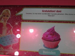 Meine Freundin Doni hat einen wundervollen Cupcake gebacken