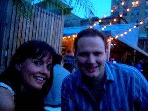 Philipp und ich. Wir sind Freunde.